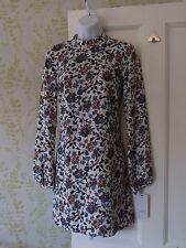 Zara Floral Regular Size Tunic Dresses for Women