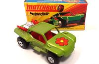 Vintage 1978 Matchbox Superfast #13 Baja Buggy Flower Brand New in Original Box