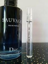 Dior Sauvage Eau de Parfum Spray 10ml New in Glass Atomizer Spray