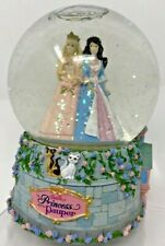 Barbie Princess And The Pauper Musical Snowglobe Snow Globe Mattel 2004