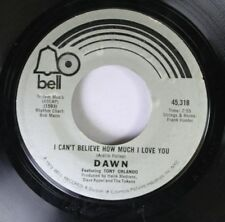 Pop 45 Tony Orlando And Dawn - I Can'T Believe How Much I Love You / Tie A Yello