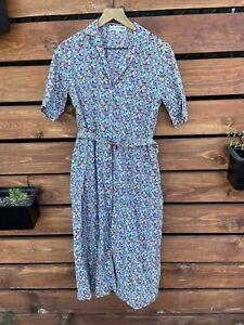 Uniqlo Ines De La Fressange Floral Belt Dress Size Small
