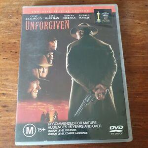 Unforgiven 10th Anniversary DVD R4 Like New! FREE POST