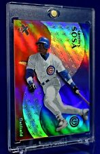 SAMMY SOSA E-X RAINBOW REFRACTOR HOLO CHICAGO CUBS HR KING SP RARE