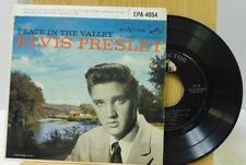 Elvis Presley 45 Ep wPS Peace In The Valley on RCA