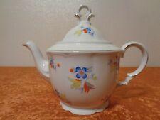 Art Deco Design Porzellan Tee Kanne / Teekanne - Vintage - um 1930 - 1 Liter
