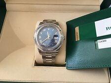 Rolex NIB 116300 41MM SS Datejust II 2 Blue Roman Dial box/papers $7,150 Retail