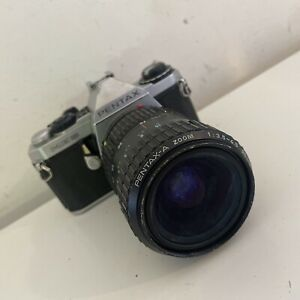 Pentax ME Super SLR FILM CAMERA w/ Pentax-A 28-80mm Lens, Average Condition