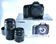 Canon EOS 7D 18.0MP Digital SLR Camera With Canon 28-80mm & 70-300mm Lenses