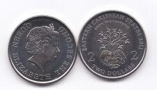 EASTERN CARIBBEAN STATE 2011 2 DOLLARS  GROW YOUR  SAVINGS NI  UNC