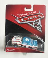 Disney Pixar Cars 3 #22 Cigalert automobile Mattel in Blister