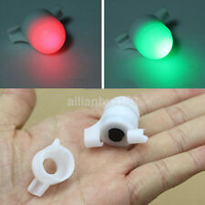 LED Night Fishing Rod Tip Clip on Fish Strike Bite Alert Alarm Light New US