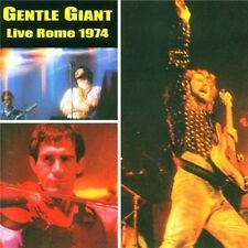 Gentle Giant Live Rome 1974 CD NEW SEALED