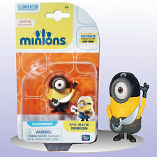 Minions Eye, Matie Minion - Poseable Action Figure 2 Inches Tall - NEW