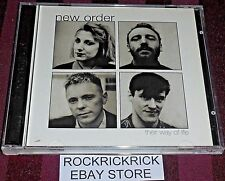 NEW ORDER - THEIR WAY OF LIFE -2 CD SET 23 TRACKS- (GOOD CONDITION) 2-5
