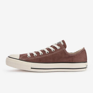 CONVERSE ALL STAR WASHEDCORDUROY OX Mocha Brown Chuck Taylor Japan Exclusive
