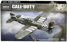 Call Of Duty World War Ii Ww2 Fighter Strike (Fwh38) 684 pcs Mega Construx Rare!