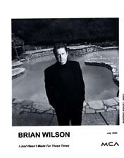 Brian Wilson of The Beach Boys - July 1995 - Mca promotional photo