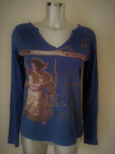 Amal Guessous - T-Shirt Sex Pistols - Size M - 100% Cotton - Blue - Authentic