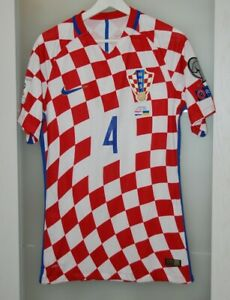 Match worn shirt Croatia national team WC 2018 Inter Milan Bayern Germany Italy