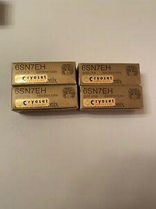 .  Quad matched (4) Electro-Harmonix 6SN7 Gold Pin Vacuum Tubes