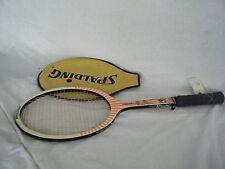 C4 raquette de tennis spalding fiberflex avec case grip 135