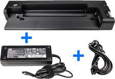 HP Dockingstation HSTNN-I15X + Orig. HP 120W Netzteil+Stromkabel Elitebook 2570p