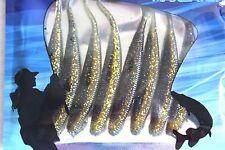 (G) 8 x 90mm Quality Dart Shad Soft Plastic Fishing Lure LRF Perch Bass Wrasse