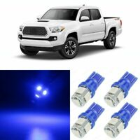 11 x BLUE Interior LED Lights Package For 2016 2017 2018 2019 2020 Toyota Tacoma