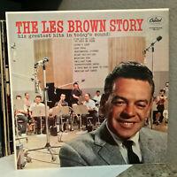 "LES BROWN - The Les Brown Story (Capitol SM-1174) - 12"" Vinyl Record LP - EX"