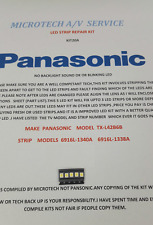 Panasonic TX-L42B6B 6916L-1338A 6916L-1340A 25 Pezzi Riparazione LED KIT20A