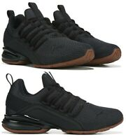 New PUMA Axelion Casual Shoes athletic sneakers Mens black gray gum all sizes