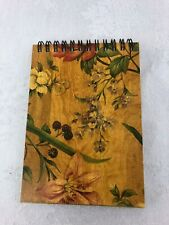 Editions by Caspari Wire Bound Wooden Cover Notebook #8420Nb6 (new)