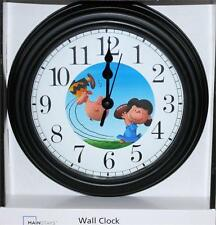"""CHARLIE BROWN CLOCK-NEW-8/12"""" IN DIAMETER-BATTERY OPERATED-DISCOUNT PRICING"""