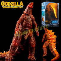 "Godzilla Burning King of the Monsters 7"" Action Figure Model Kid Toy NECA"