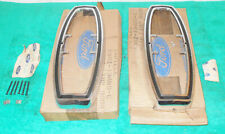1968 1969 Fairlane Torino Station Wagon Squire NOS REAR TAIL LIGHT LAMP DOORS