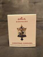 Hallmark 2019 CHRISTMAS CAROUSEL 3rd and Final New in Box Ornament