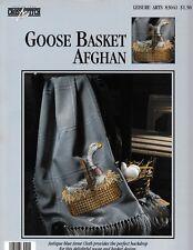 Goose Basket Afghan Cross Stitch Chart   Leisure Arts 83041