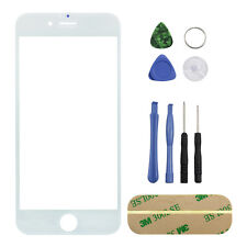 For iPhone 6 S 4.7 inch Outer Screen Glass Lens Replacement White REPAIR KIT