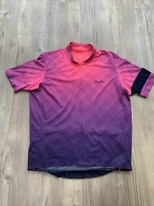 Rapha Classic Flyweight Jersey - Block Fade - Size XL