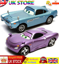 2x Car Pixar Cars 2 Finn McMissile & Holly Shiftwell Diecast Toy 1:55 Kids Gift