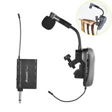 Professional UHF Wireless Instrument Microphone System for Saxophone Trumpet Sax