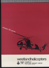 (192) Brochure hélicoptère Aircraft Helicopter Westland Wessex 50 series