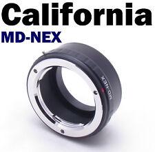 MD-NEX Minolta SR MC Sony Alpha E Mount NEX 7 5 II 7R 5N 5C 3 VG10 20 30 Adapter