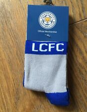 Leicester City  Child Socks Twin Pack Size 8-12