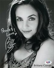 Brittany Curran Signed Authentic Autographed 8x10 Photo (Psa/Dna) #P49324