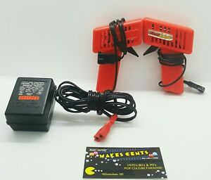 Lot Of 2 - Fast Lane TRIGGER Slot Car CONTROLLERS w/ Power Adapter