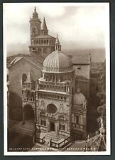 Bergamo Alta : Cappella e Basilica - viaggiata 1938