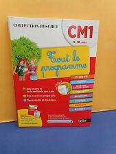 Collection Boscher : CM1 - TOUT LE PROGRAMME - éditions Belin - NEUF