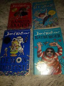 David walliams books bundle